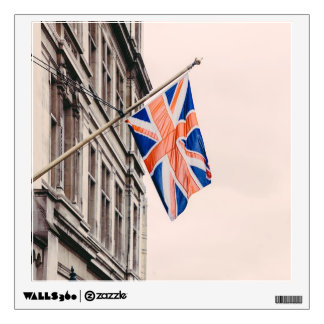 Union Jack Flag Wall Sticker