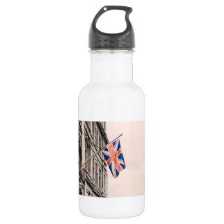 Union Jack Flag Water Bottle