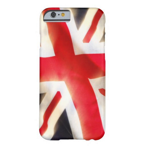 Union jack flag waving in the wind barely there iPhone 6 case
