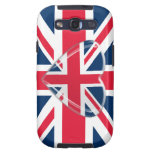 Union Jack flag with Heart Samsung Case Samsung Galaxy S3 Cover