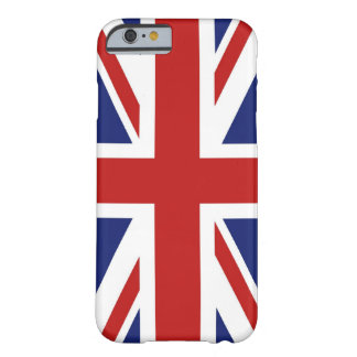 Union Jack Funda De iPhone 6 Barely There