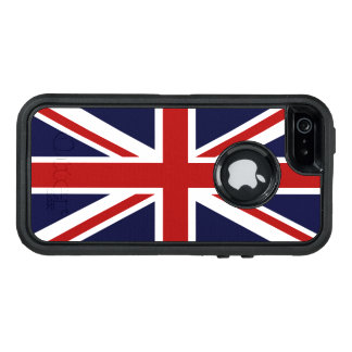 Union Jack Funda OtterBox Defender Para iPhone 5