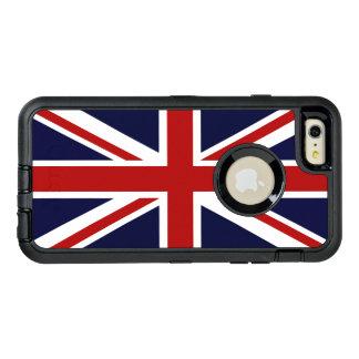 Union Jack Funda OtterBox Defender Para iPhone 6 Plus