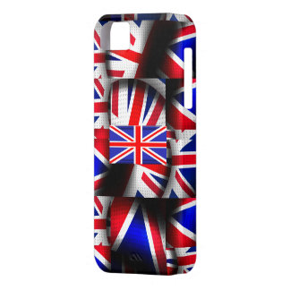 Union Jack Funda Para iPhone 5 Barely There