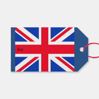 Union Jack Gift Tags