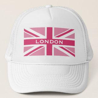 Union Jack ~ Girly Pinks Trucker Hat
