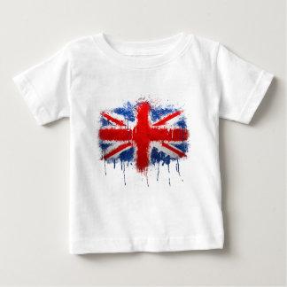 Union Jack Graffiti Baby T-Shirt