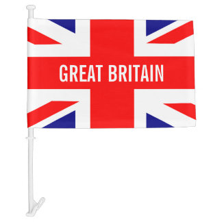 Union Jack Great Britain Car Flag