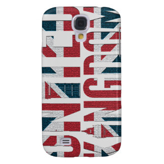 Union Jack Great Britain Flag Big Ben Concept Galaxy S4 Cover