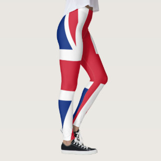 Union Jack Great Britain Leggings