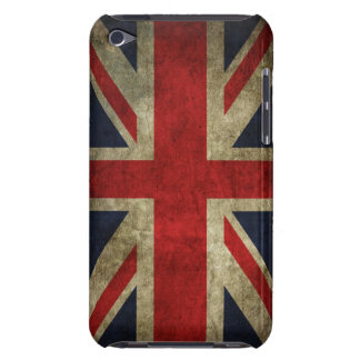 Union Jack Grunge Barely There iPod Case