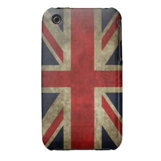 Union Jack Grunge iPhone 3 Case-Mate Cases