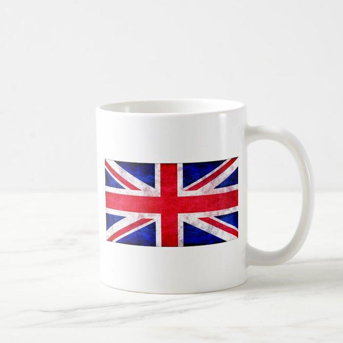 Union Jack grunge t-shirts and gifts Coffee Mug