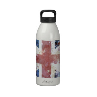 Union Jack Grunge Drinking Bottles