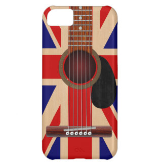 Union Jack Guitar Cover For iPhone 5C