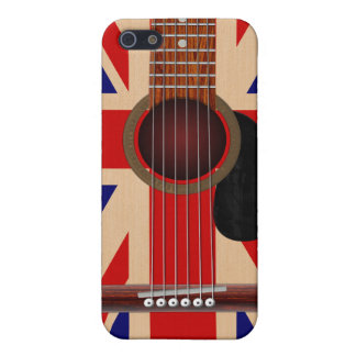 Union Jack Guitar Cover For iPhone SE/5/5s