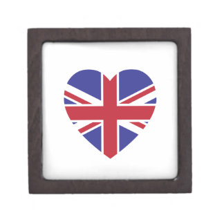 Union Jack Heart Gift Box