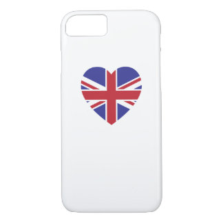 Union Jack Heart iPhone 7 Case