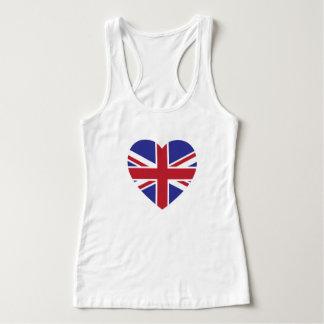 Union Jack Heart Tank Top