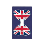 Union Jack Hearts Flags Light Switch Cover