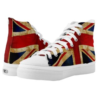 Union Jack High-Top Sneakers
