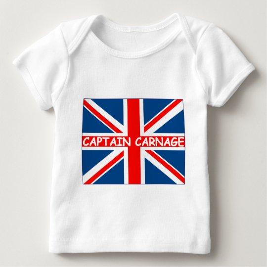 Union Jack humorous Baby T-Shirt