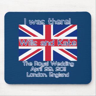 Union Jack I WAS THERE Royal Wedding Tshirt Mouse Pad