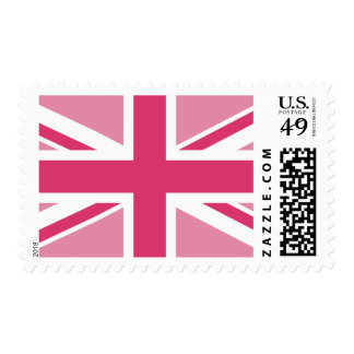 Union Jack ~ In Girly Pinks Postage