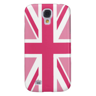 Union Jack ~ In Girly Pinks Samsung S4 Case