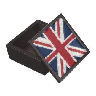 Union Jack Jewelry Box