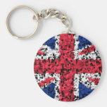 Union Jack - key ring Keychain