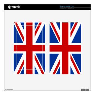 Union Jack Kindle Skin