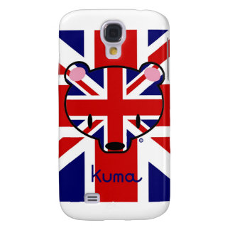 Union Jack Kuma-chan Samsung S4 Case