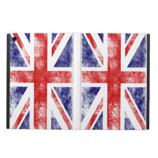 Union Jack la impresión blanca del lavado de la