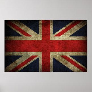 Union Jack - llevado Poster