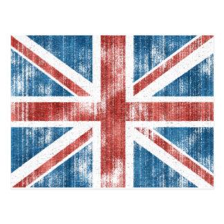 Union Jack llevado Postales