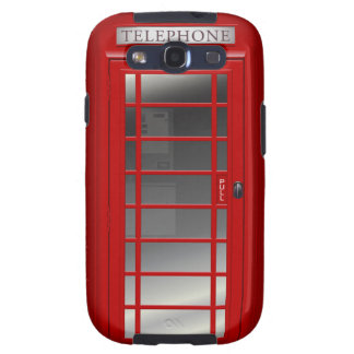 Union Jack London Red Phone CallBox Samsung Case Galaxy S3 Covers