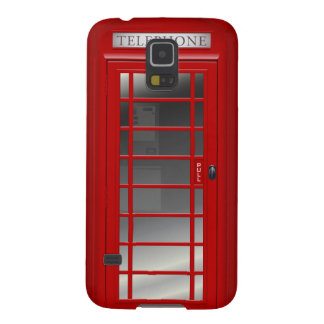 Union Jack London Red Phone CallBox Samsung S5 Galaxy S5 Cover