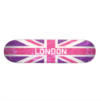 Union Jack, London Skateboard Deck