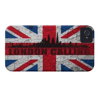 Union Jack Londres horizonte Blackberry funda