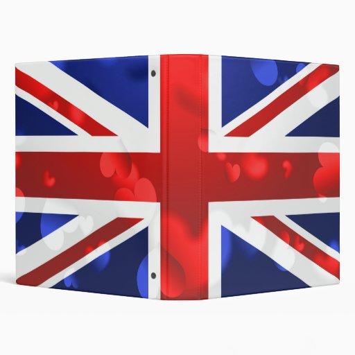 Union Jack Love Binders