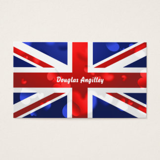 Union Jack Love, Business Card
