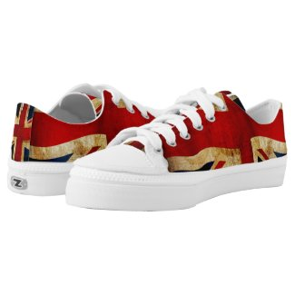 Union Jack Low-Top Sneakers