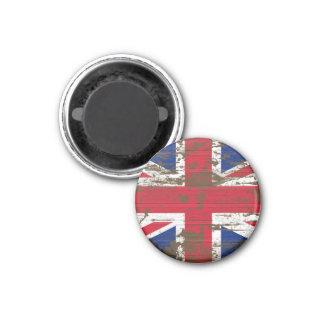 Union Jack 1 Inch Round Magnet