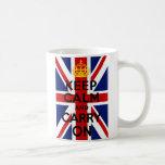 Union Jack mantiene tranquilo y continúa la taza