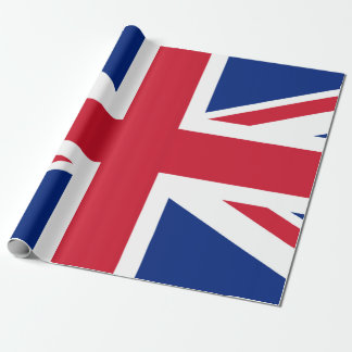 "Union Jack Matte Wrapping Paper, 30"" x 6' Wrapping Paper"