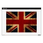 Union Jack (mirada apenada vintage) Portátil 38,1cm Skin
