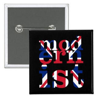 Union Jack modernista Pins