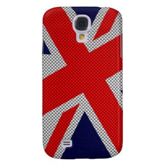 Union Jack moderno en la impresión del estilo de Samsung Galaxy S4 Cover