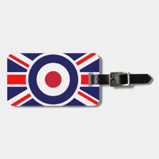 Union Jack Mods England Target Luggage Tag